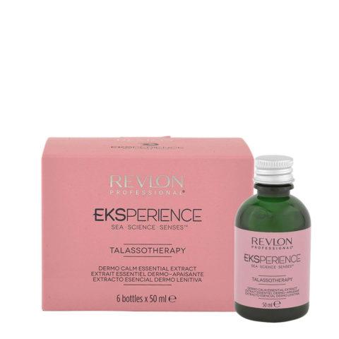 Eksperience Talassotherapy Dermo Calm Essential Extract 6x50ml - Para Cuero Cabelludo Sensibles