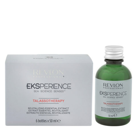 Eksperience Talassotherapy Revitalizing Essential Extract 6x50ml - Para Cabello Fino
