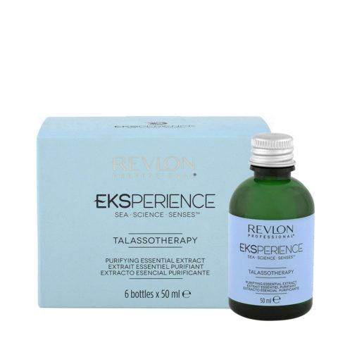 Eksperience Talassotherapy Purifying Essential Extract 6x50ml - Para El Cuero Cabelludo Con Caspa