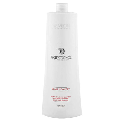 Eksperience Scalp Comfort Dermo Calm Cleanser Shampoo 1000ml - Para Cuerbo Cabelludo Sensibles