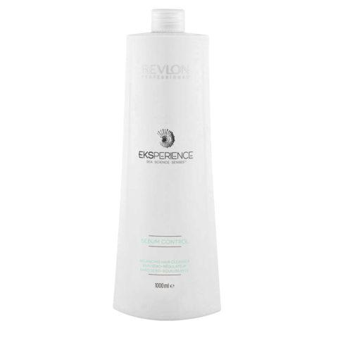 Eksperience Sebum Control Balancing Cleanser Shampoo 1000ml - Para Cuero Cabelludo Grueso