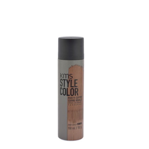 KMS Style Color Rusty copper 150ml - Tintes De Pelo Spray Cobre