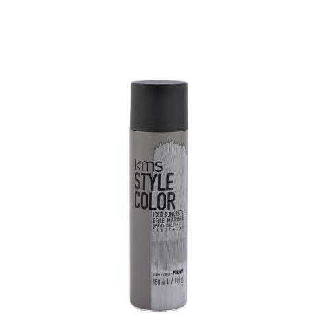 KMS Style Color Iced concrete 150ml - Tintes De Pelo Spray Marmol Gris