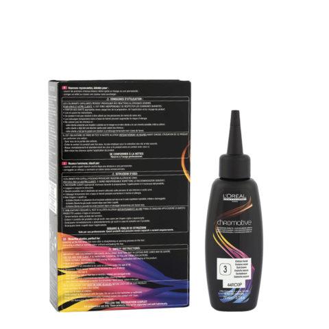 4 Castaño oscuro L'Oréal Chromative 3x70ml