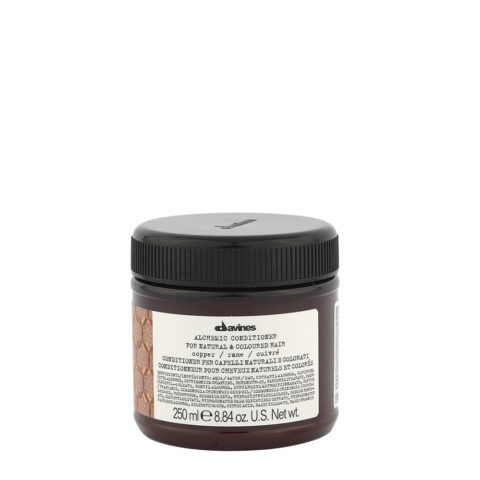 Davines Alchemic Conditioner Copper 250ml - Acondicionador Coloreado Para Cabello Cobrizo