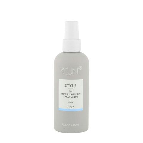 Keune Style Fix Liquid Hairspray N.97, 200ml - Lacado sin gas