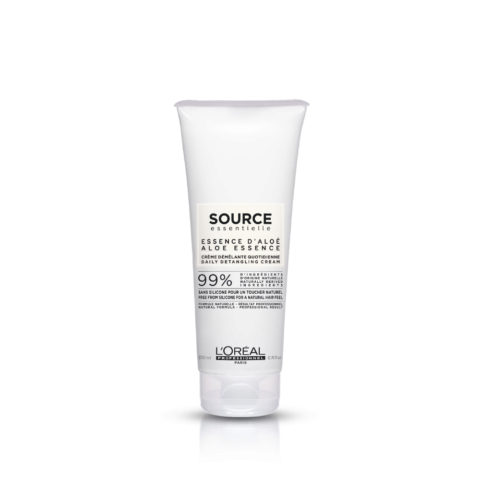 L'Oréal Source Essentielle Aloe essence Daily detangling cream 200ml - bálsamo desenredante