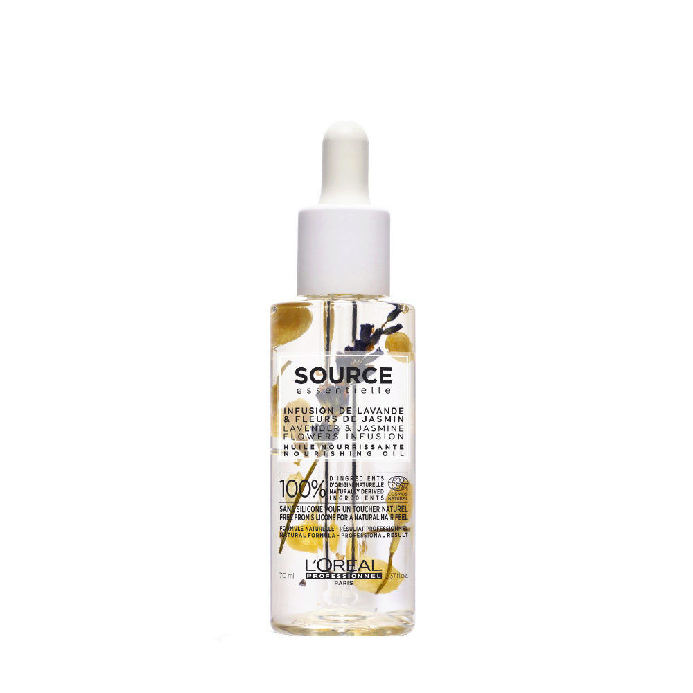 L'Oréal Source Essentielle Lavender & jasmine flowers infusion Nourishing oil 70ml - Aceite nutritivo