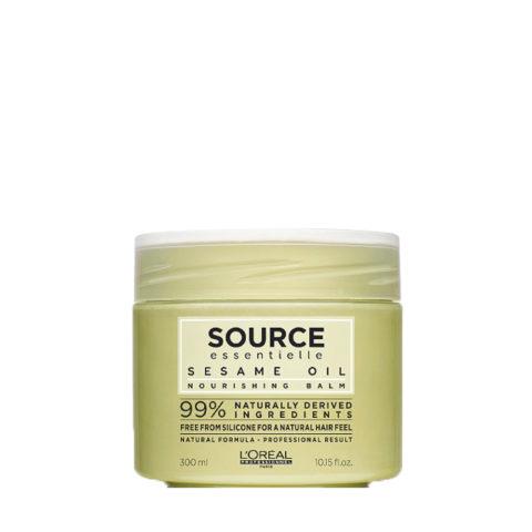 L'Oréal Source Essentielle Sesame oil Nourishing balm 250ml - Aceite bálsamo nutritivo