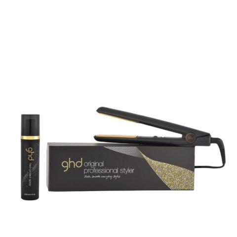 GHD Kit Plancha Original Black Heat protect spray 120ml