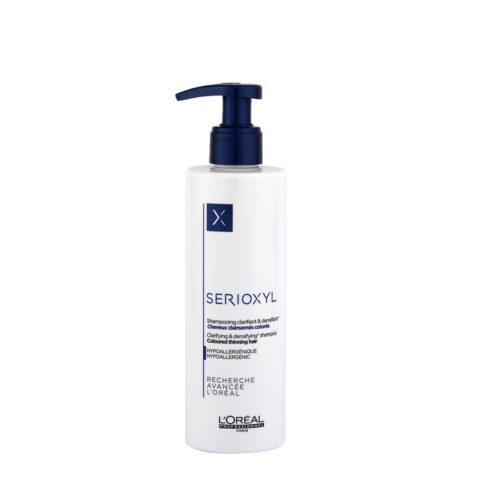 L'Oreal Serioxyl Clarifying densifying Shampoo 250ml - redensificante para cabello teñido