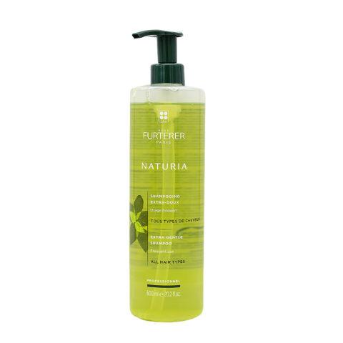 René Furterer Naturia Extra Gentle Shampoo 600ml - Champú Extra Suave Uso Frecuente