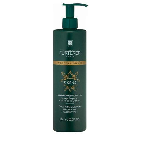 René Furterer 5 Sens Enhancing Shampoo 600ml - por todo tipo de cabello