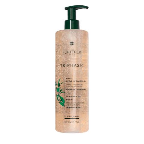 René Furterer Triphasic shampoo 600ml - Champú estimulante