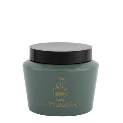 Creattiva Oil Secrets Curly Crema Modeladora 500ml - Mascarilla Para Pelo Rizado