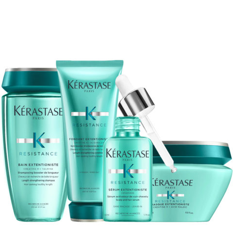 Kerastase Résistance Extentioniste Kit Bain 250ml Fondant 200ml Masque 200ml Serum 50ml