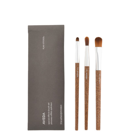 Aveda Flax Sticks Special Effect Brush Set n 5 Sombreador de Ojos n 6 Contorneador de Ojos n 8 Matiz