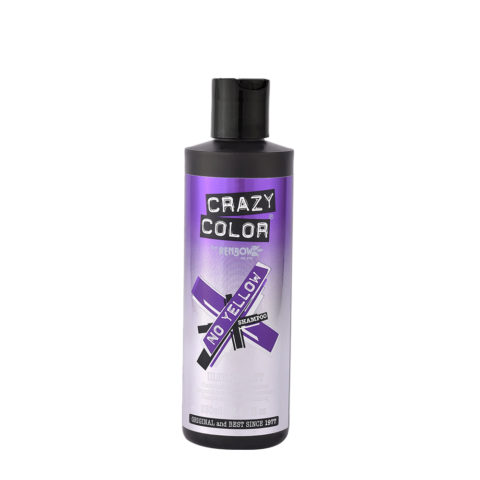 Crazy Color No Yellow Shampoo Ultraviolet 250ml - champù anti amarillo
