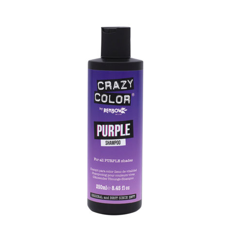 Crazy Color Shampoo Purple 250ml - Champù para cabello morado