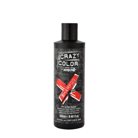 Crazy Color Shampoo Red 250ml - Champù para cabello rojo