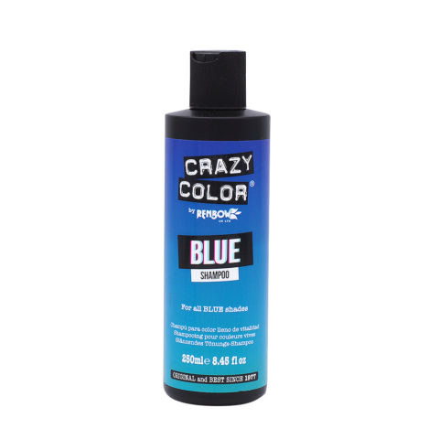 Crazy Color Shampoo Blue 250ml - Champù para cabello azul