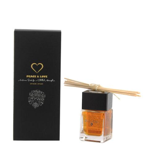 Tecna Peace and Love Home Fragrance 100ml - Ambientador Jengibre Y Vainilla
