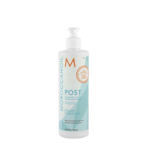 Moroccanoil Color Complete Chromatech Post 500ml - Mascarilla Altamente Reparadora Y Selladora Después De Colorear