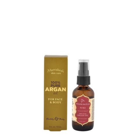 Marrakesh 100% Pure Argan Oil Para Cara Y Cuerpo 60ml
