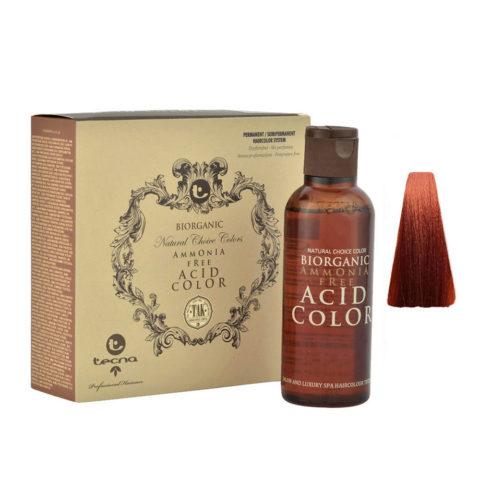 8.44 Rubio oscuro cobre intenso Tecna NCC Biorganic acid color 3x130ml
