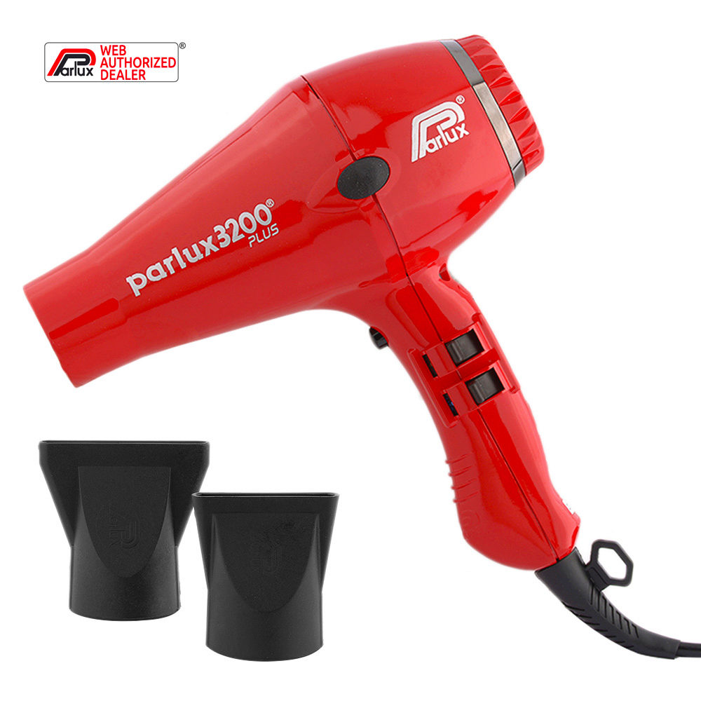 Parlux 3200 Plus - Secador Rojo