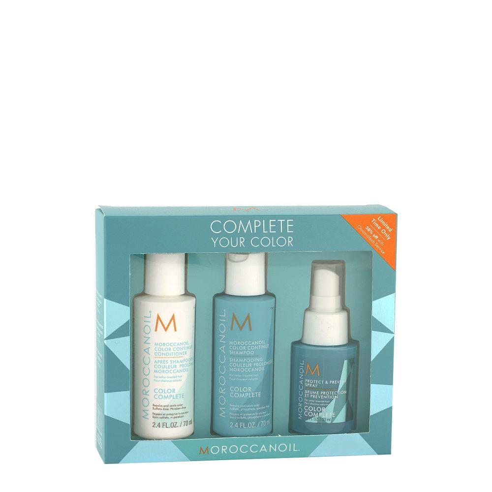 Moroccanoil Color Complete Kit De Viaje cabello tenido