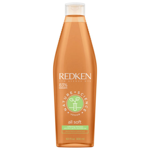 Redken Nature + Science All Soft Softening Shampoo 300ml - Champù Hidratante