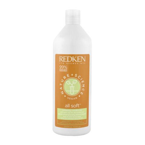 Redken Nature + Science All Soft Softening Conditioner 1000ml - Acondicionador Hidratante