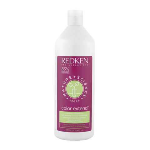 Redken Nature + Science Color Extend Shampoo 1000ml - Champù cabellos teñido