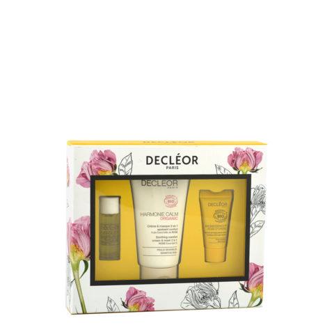 Decléor Certified Organic Soothing Box para pieles delicades y sensibles