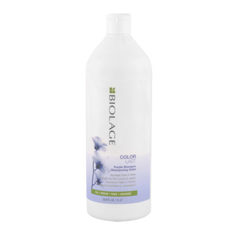 Biolage Colorlast Purple Shampoo 1000ml - Anti Amarillo Champù