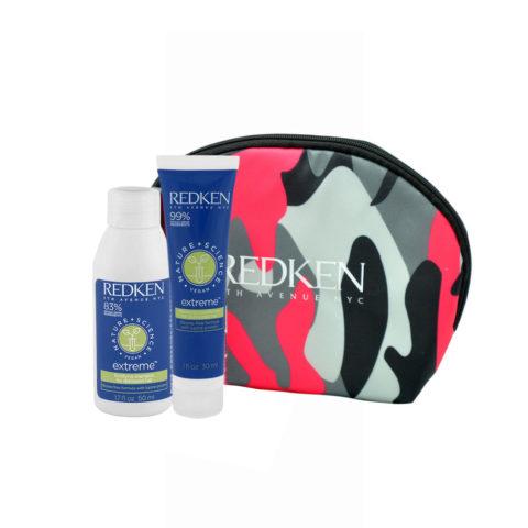 Redken Nature + Science Extreme Shampoo 50ml Conditioner 30ml bolsa en regalo