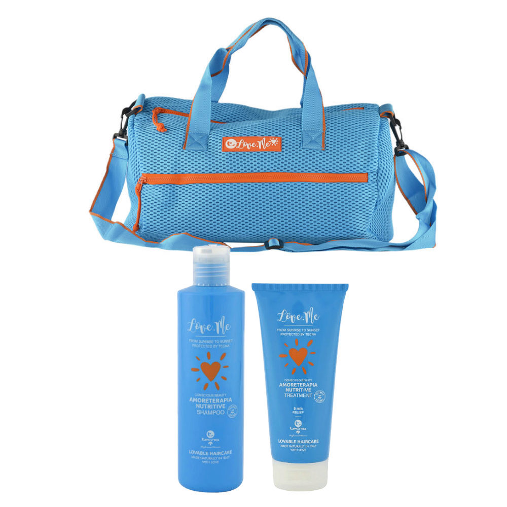 Tecna Sun Amoreterapia Shampoo 250ml Treatment 200ml Sun bag gratis