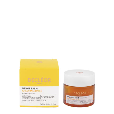 Decléor Green Mandarin Night Balm 15ml - Crema De Noche