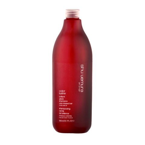 Shu Uemura Color lustre Brilliant glaze shampoo 980ml - champù para el cabello de color