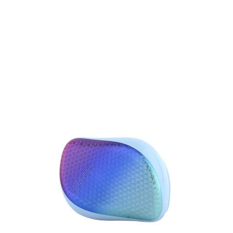 Tangle Teezer Compact Styler Mermaid Texture Blue - cepillo para desenredar