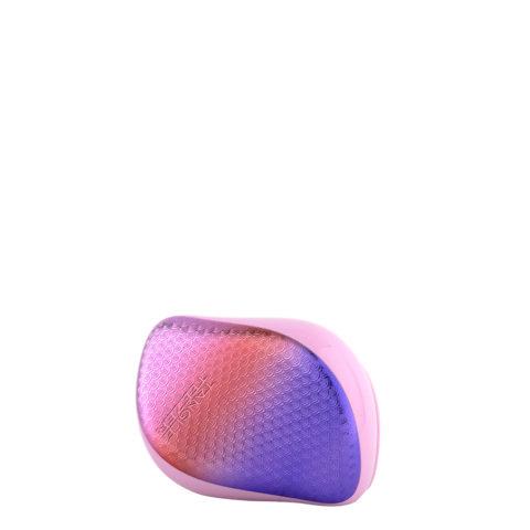 Tangle Teezer Compact Styler Mermaid Texture Pink - cepillo para desenredar