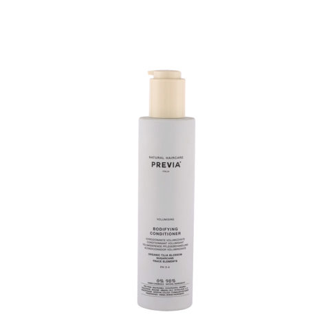 Previa Volumizing Organic Tilia Blossom Bodifying Conditioner 200ml - acondicionador voluminizador