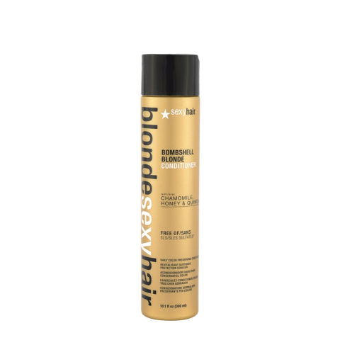 Blonde Sexy Hair Sulfate-Free Bombshell Blonde Conditioner 300ml - Acondicionador Sin Sulfatos Cabellos Rubio