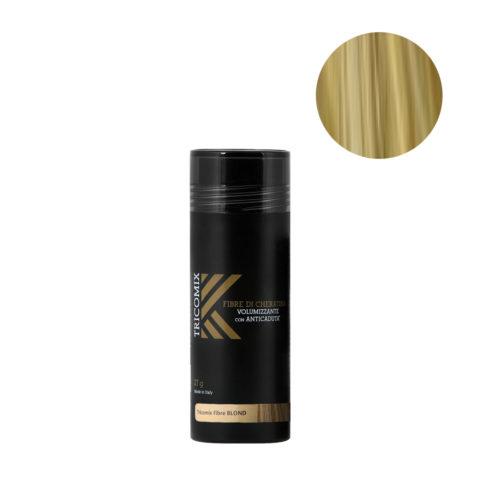 Tricomix Fibre Blond 27gr - Fibras De Queratina Con Efecto Voluminizador Y Anticaída Rubio