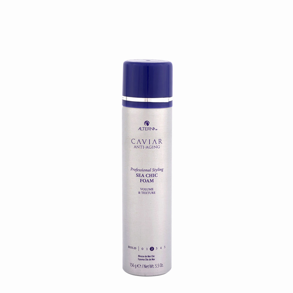 Alterna Caviar Style Sea Chic Volume & Texture Foam spray 156ml - espuma ligera volumen