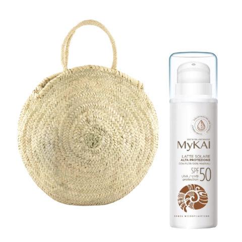 Mykai Crema Solar Protecciòn Alta SPF50, 150ml Bolsa De Regalo