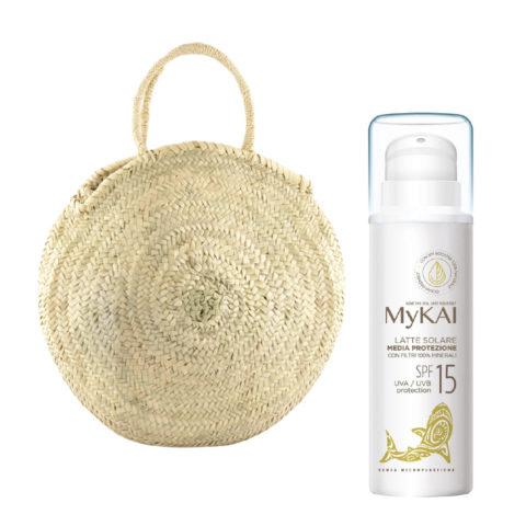 Mykai Crema Solar Protecciòn Media SPF15, 150ml Bolsa De Regalo