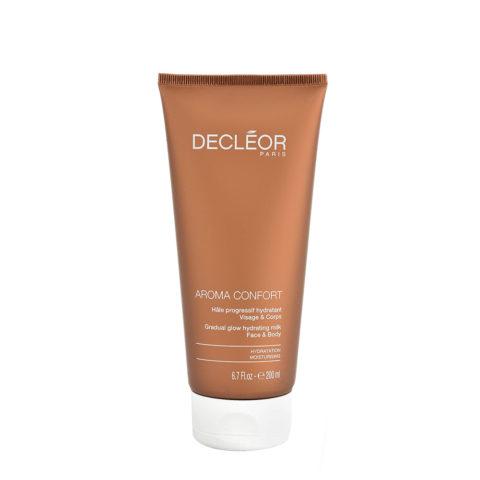 Decléor Aroma Confort Hâle Progressif Hydratant 200ml - leche corporal bronceadora progresiva