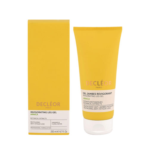 Decléor Invigorating Leg Gel Arnica 200ml - Gel tonificantes para piernas
